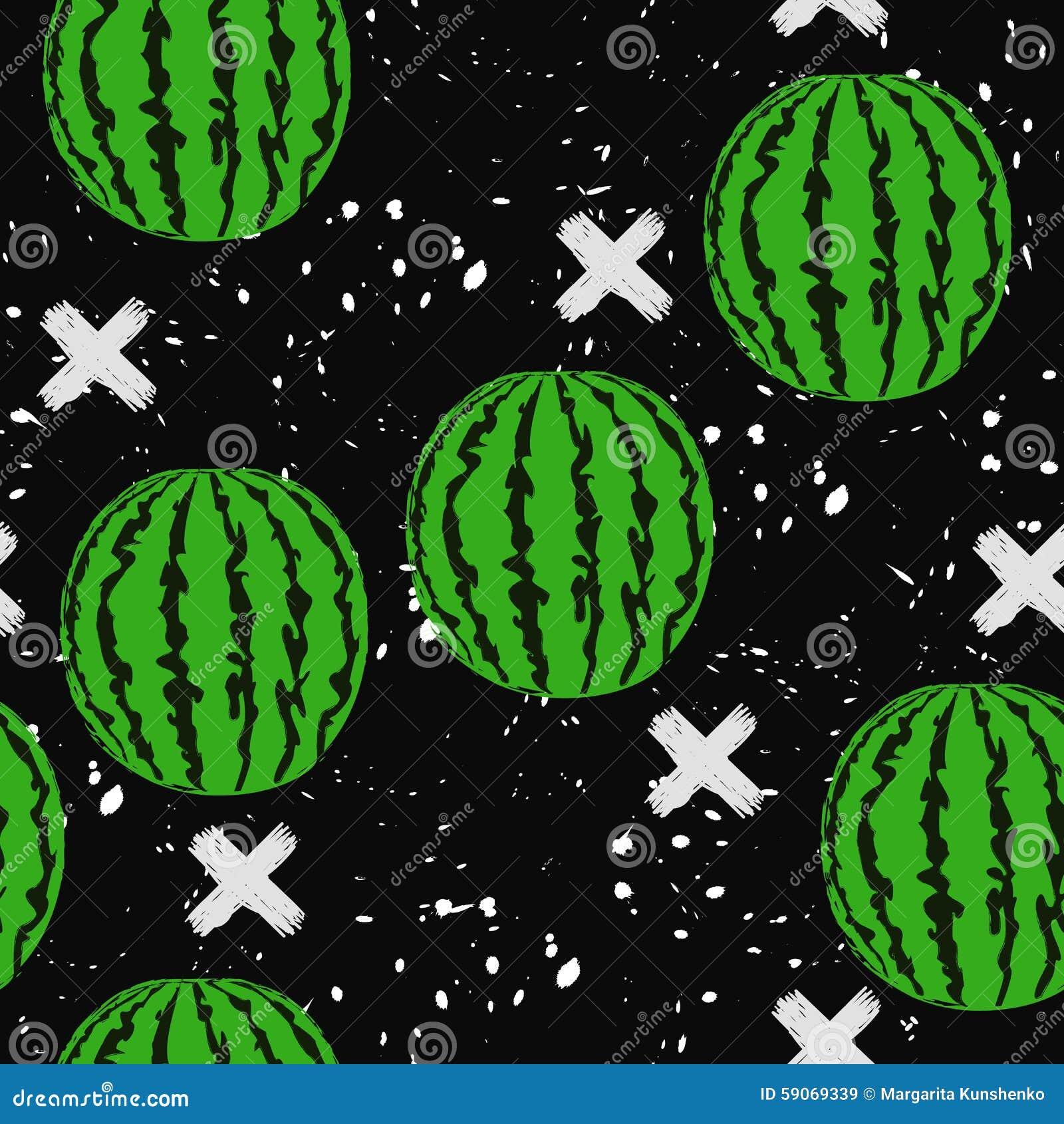整个西瓜的样式图片