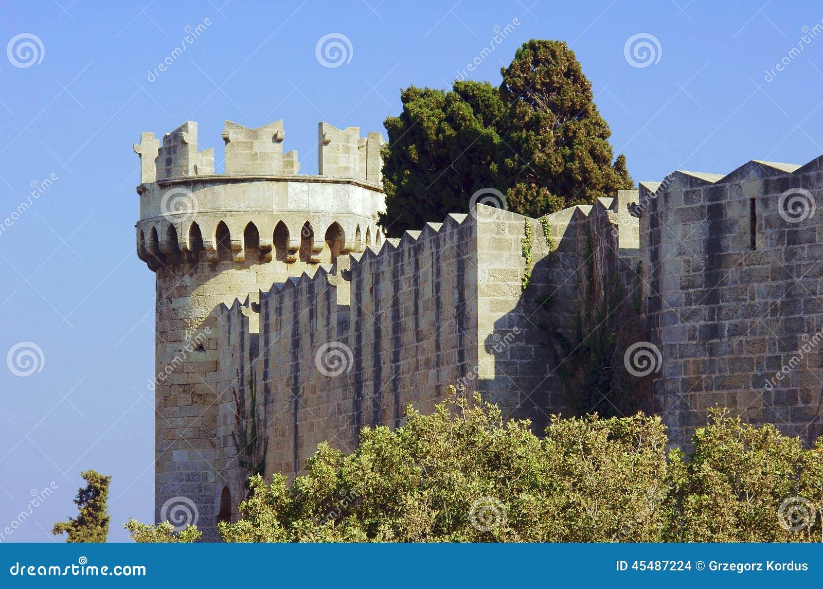 中世纪城堡的本营