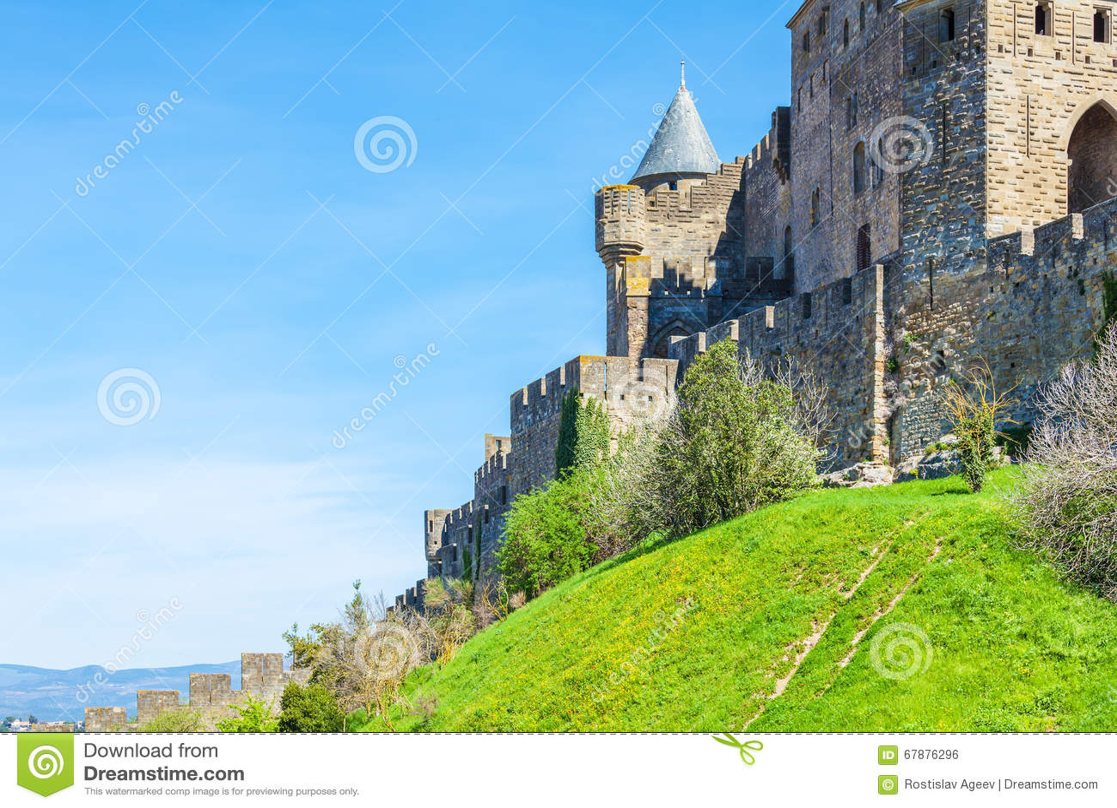中世纪城堡,卡尔卡松塔