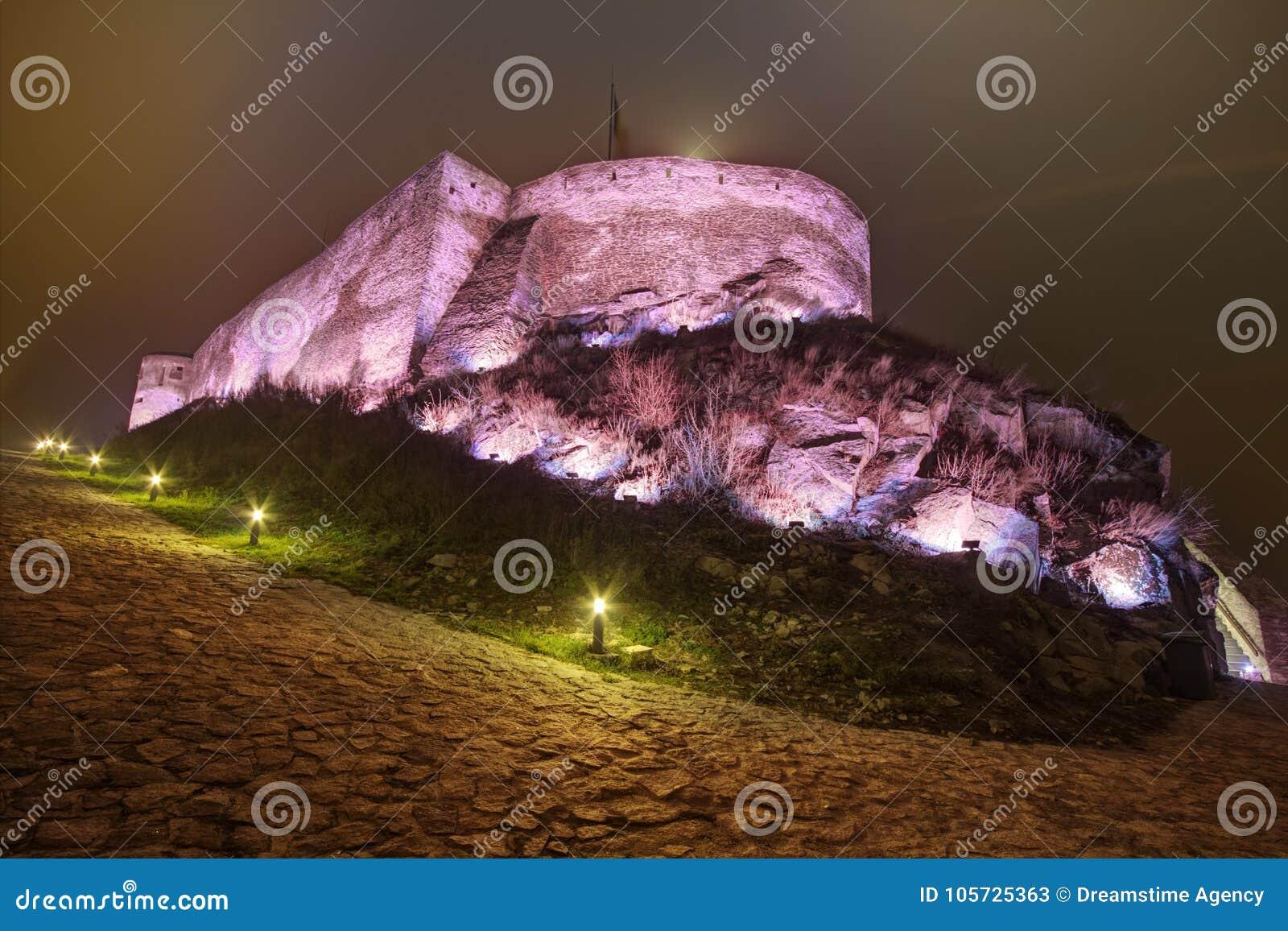 中世纪天界堡垒在欧洲,罗马尼亚