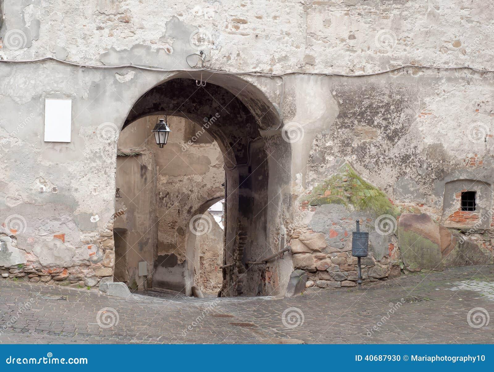 中世纪街道