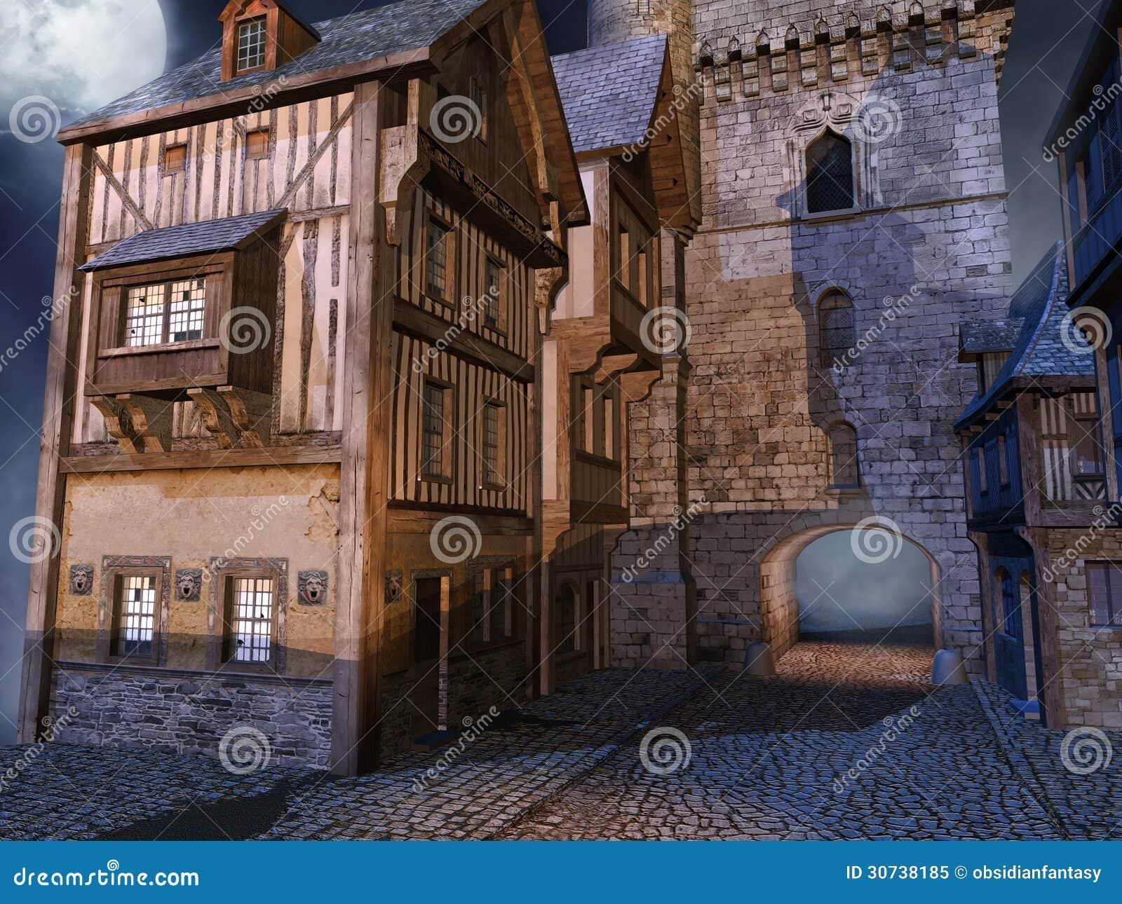 中世纪门图片