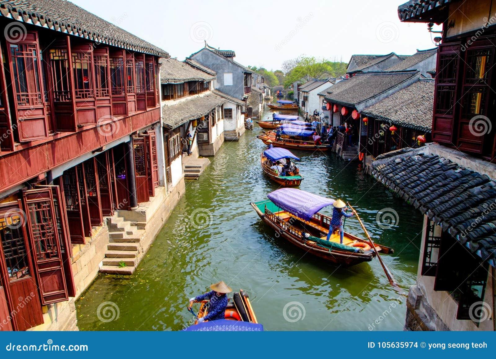 中国古老水村庄