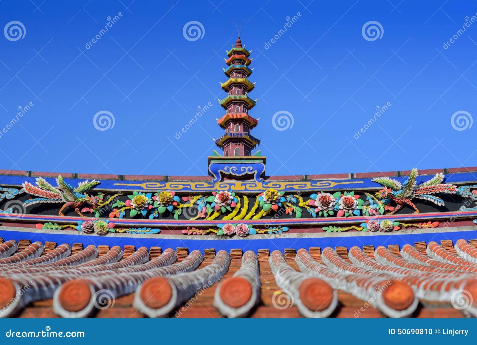 Download 中国寺庙屋顶 库存照片. 图片 包括有 汉语, 颜色, 金黄, 文化, 有历史, 拱道, 外部, 古典, 镇痛药 - 50690810