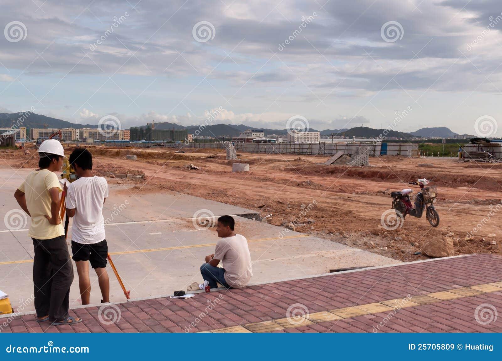 中国工作者年轻人