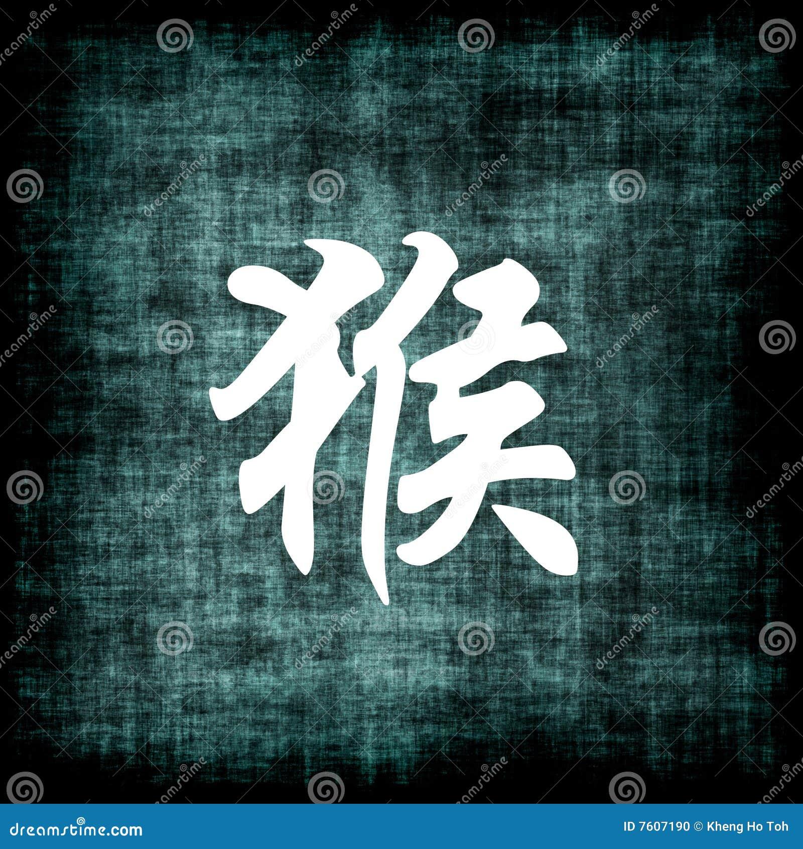 中国猴子符号黄道带