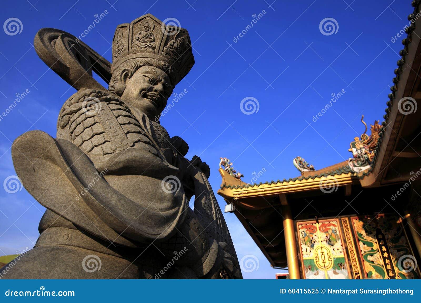 中国神石雕塑中国寺庙的,中国