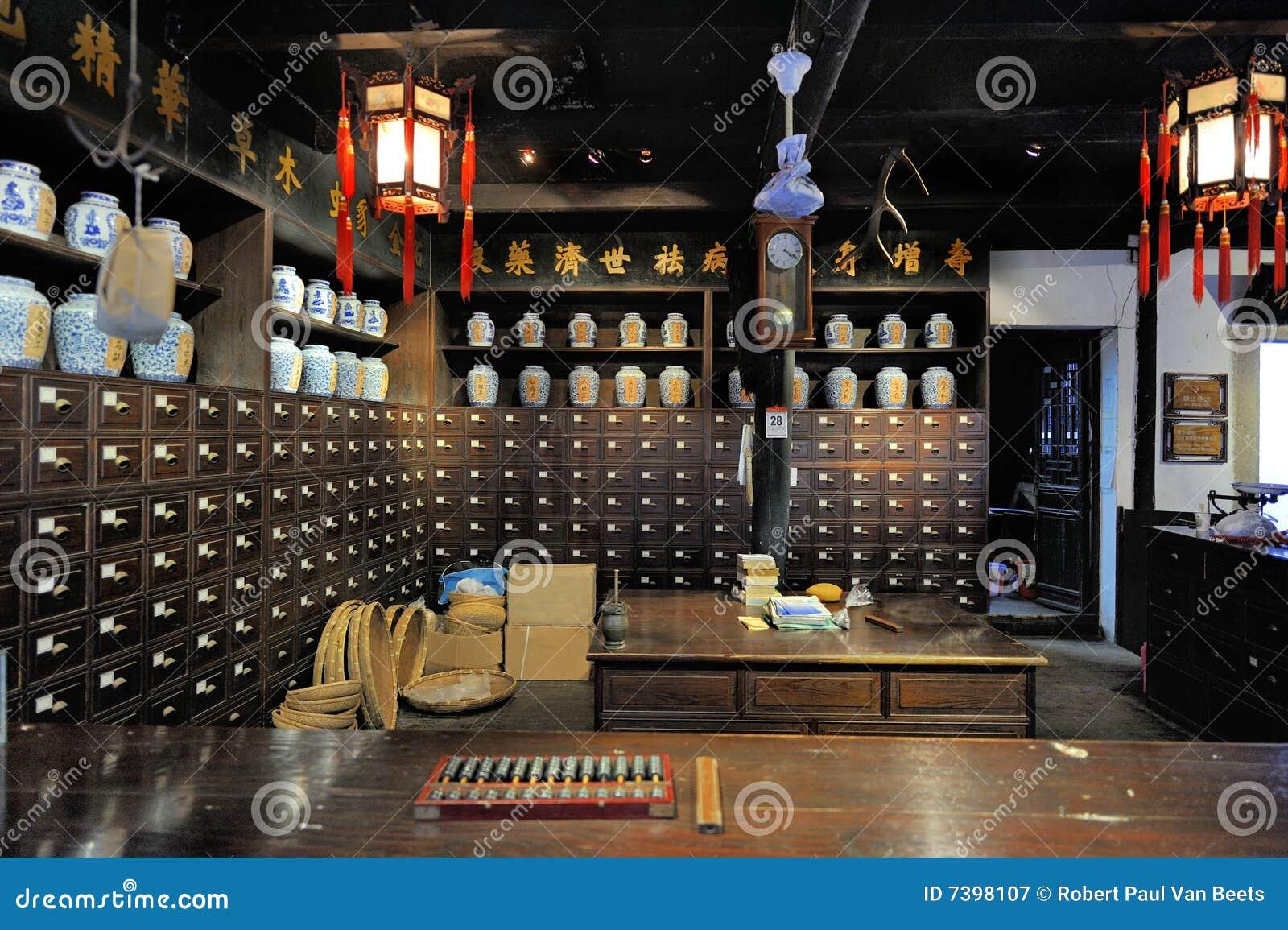 中国老药房