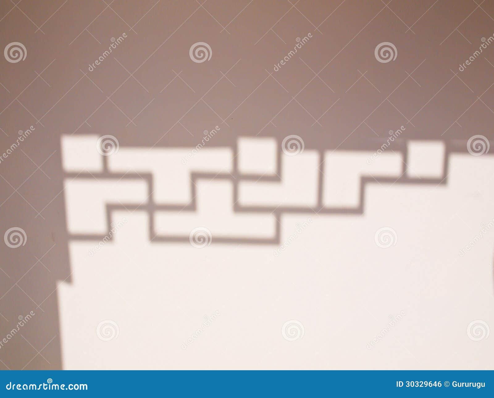 中国装饰的阴影在墙壁上的从Sirindhon中国人崇拜