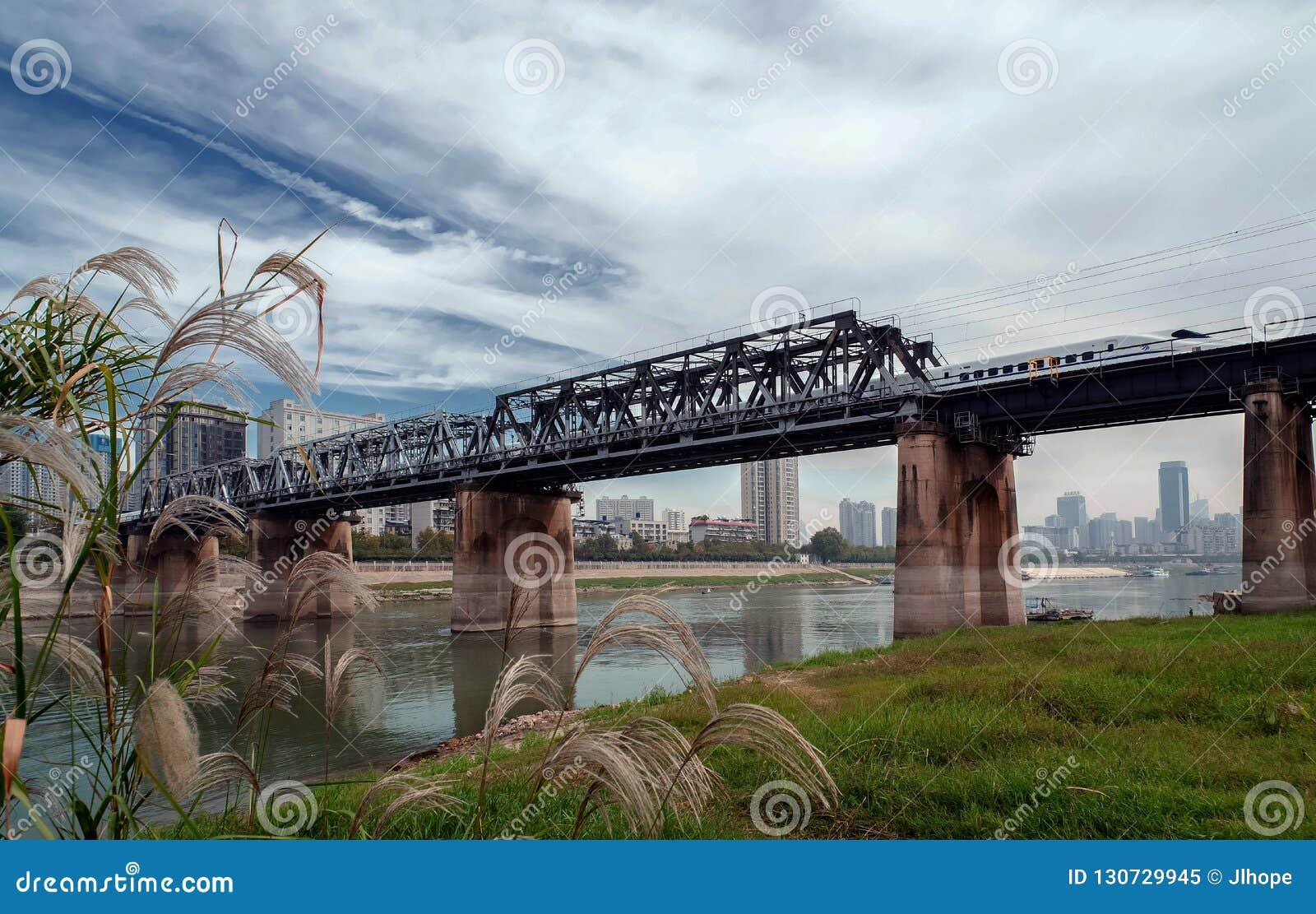 中国高速路轨运输