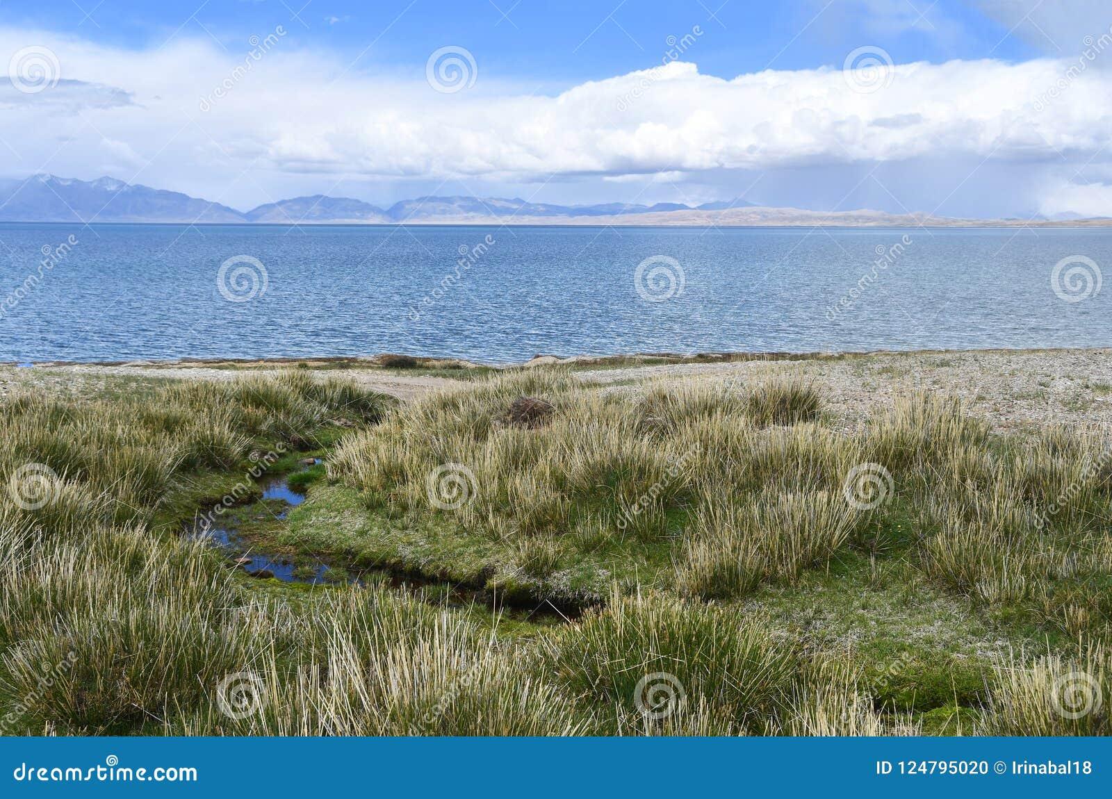中国,西藏,圣洁湖Manasarovar