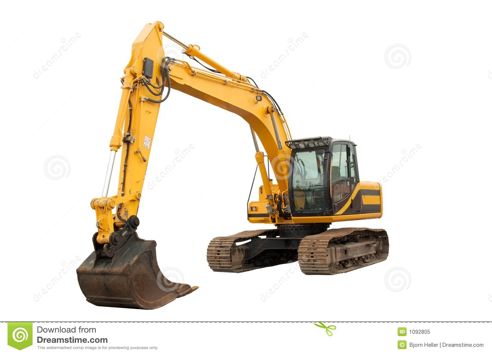 中型挖掘机