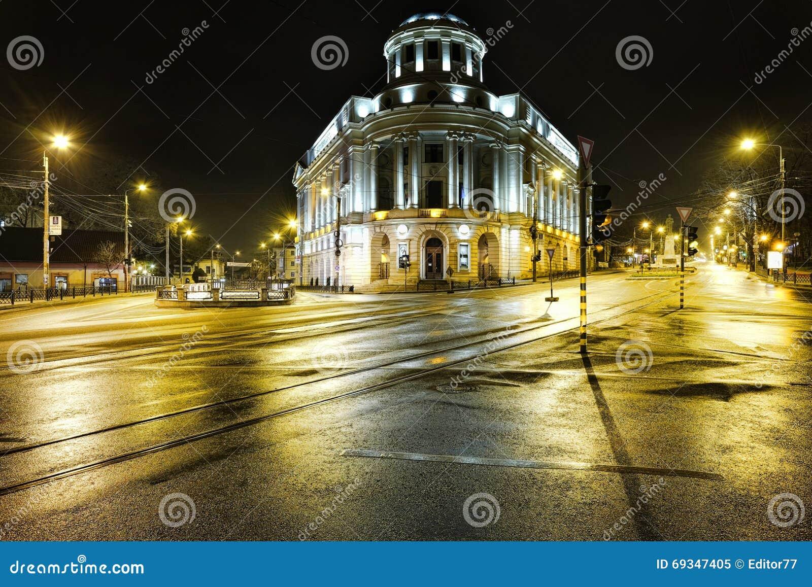中央大学图书馆在市Iasi,罗马尼亚