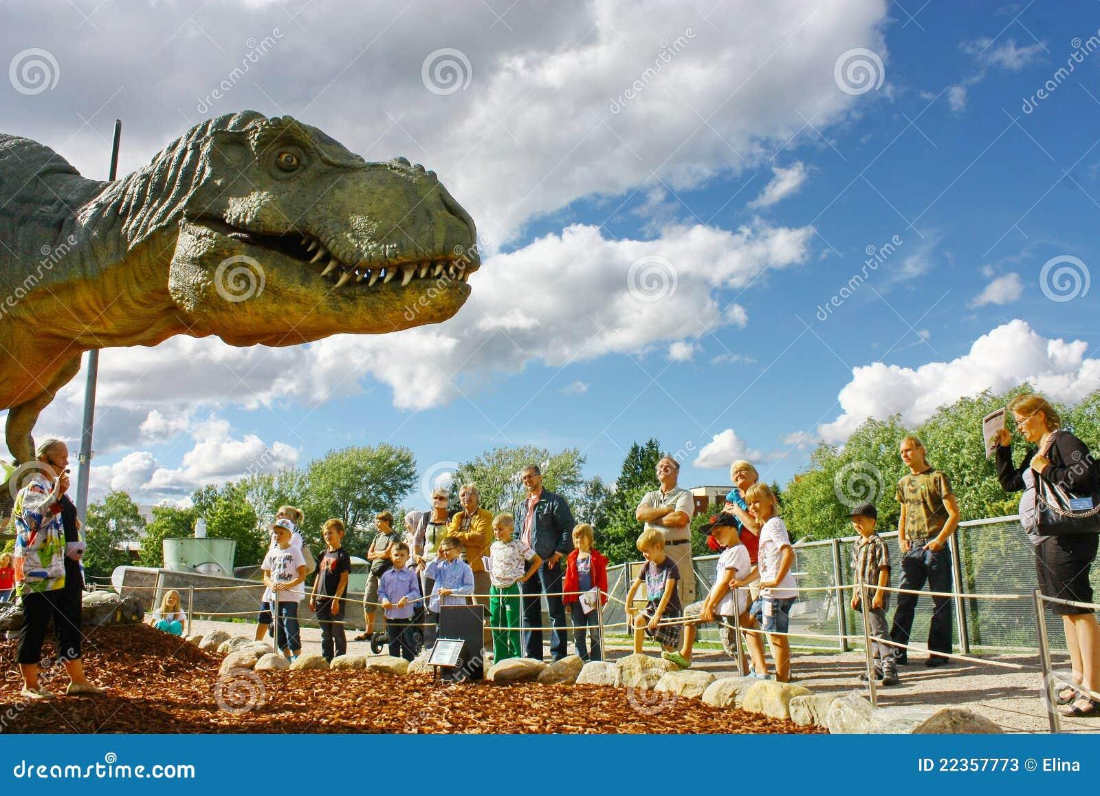 中心恐龙陈列芬兰科学