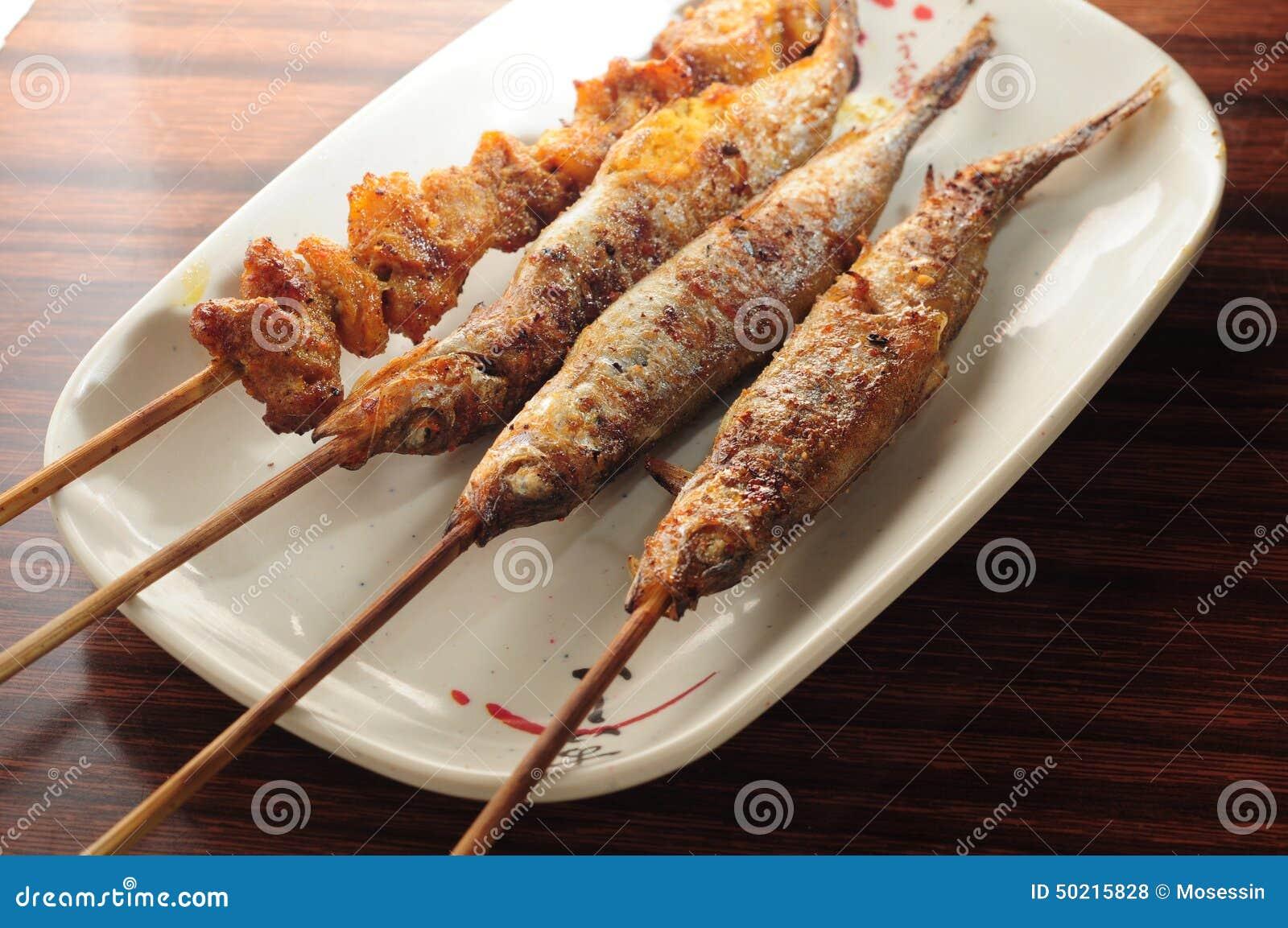 串�9.'z%�_毛鳞鱼鱼猪肉烤串.