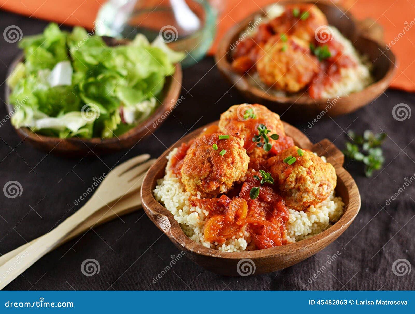 丸子用西红柿酱用蒸丸子