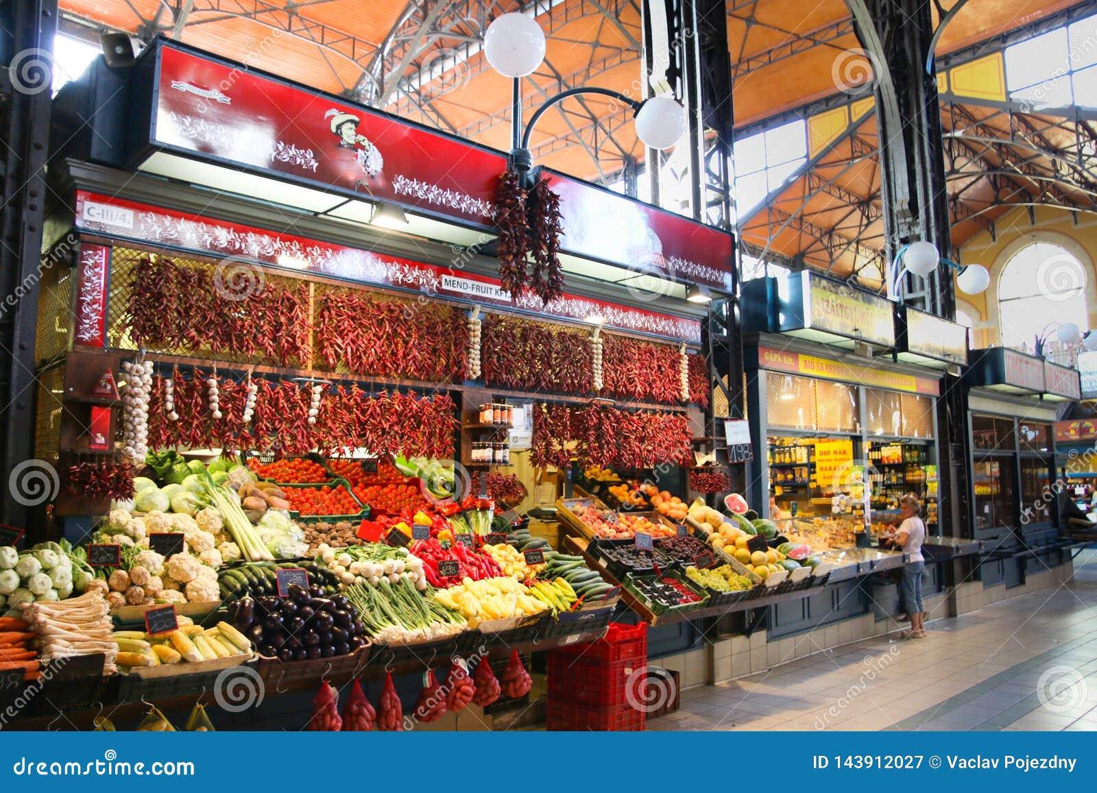 主要市场霍尔布达佩斯匈牙利