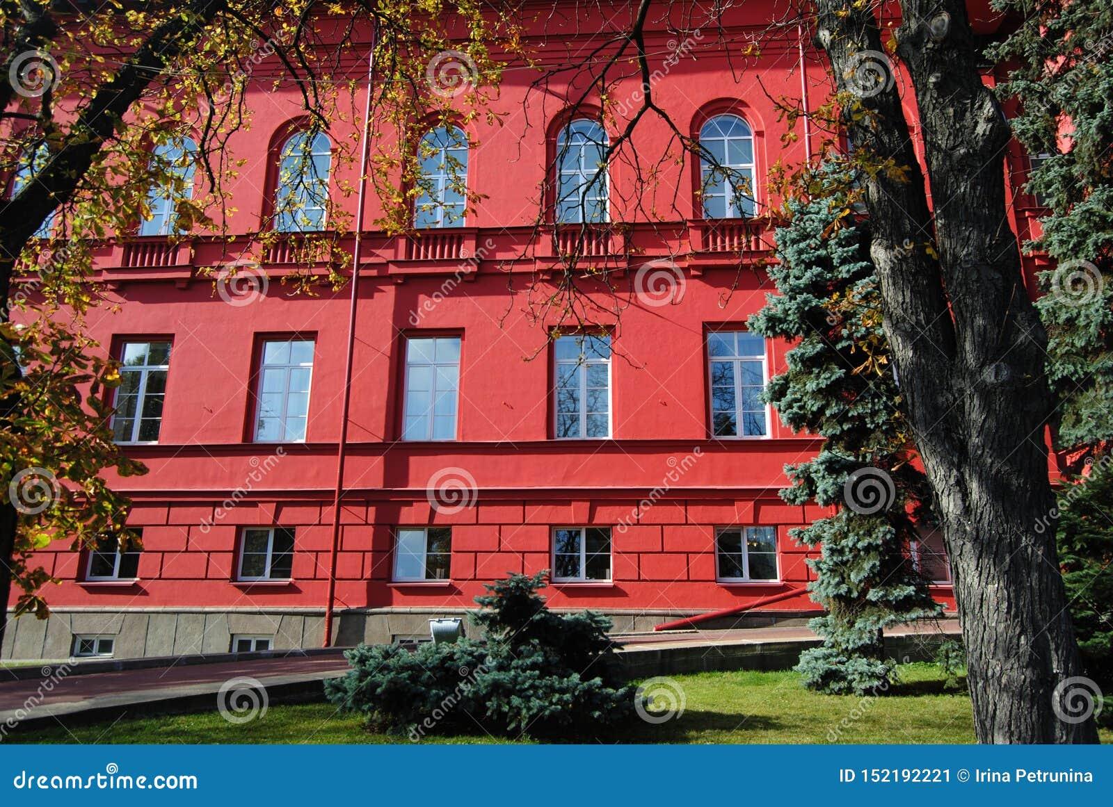 乌克兰- 9月15,2012:基辅塔拉斯・舍甫琴科国立大学