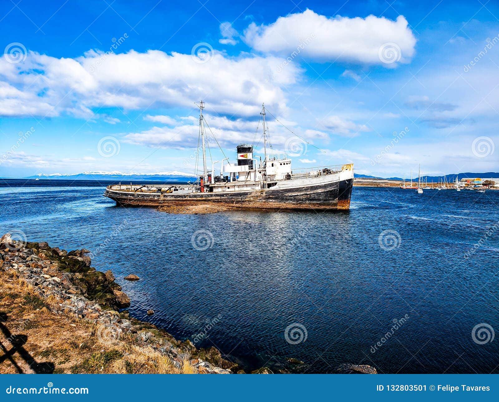 乌斯怀亚,阿根廷,巴塔哥尼亚风景看法