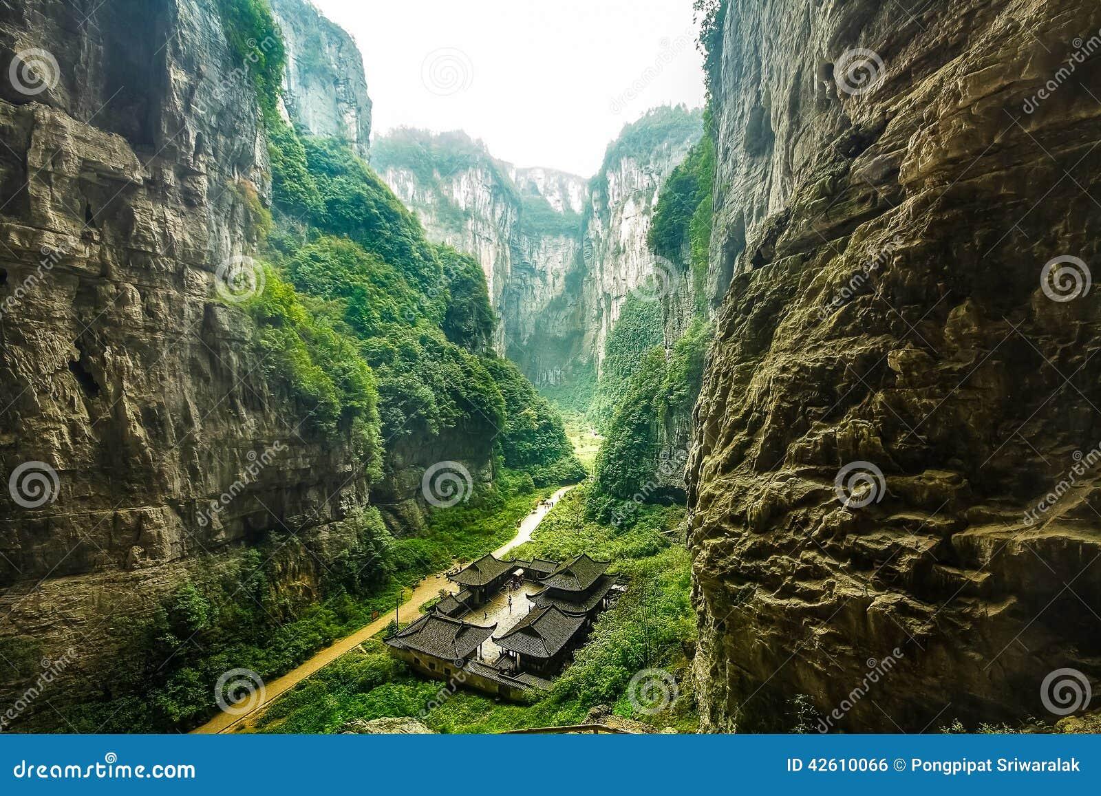 乌龙国家公园,重庆,中国