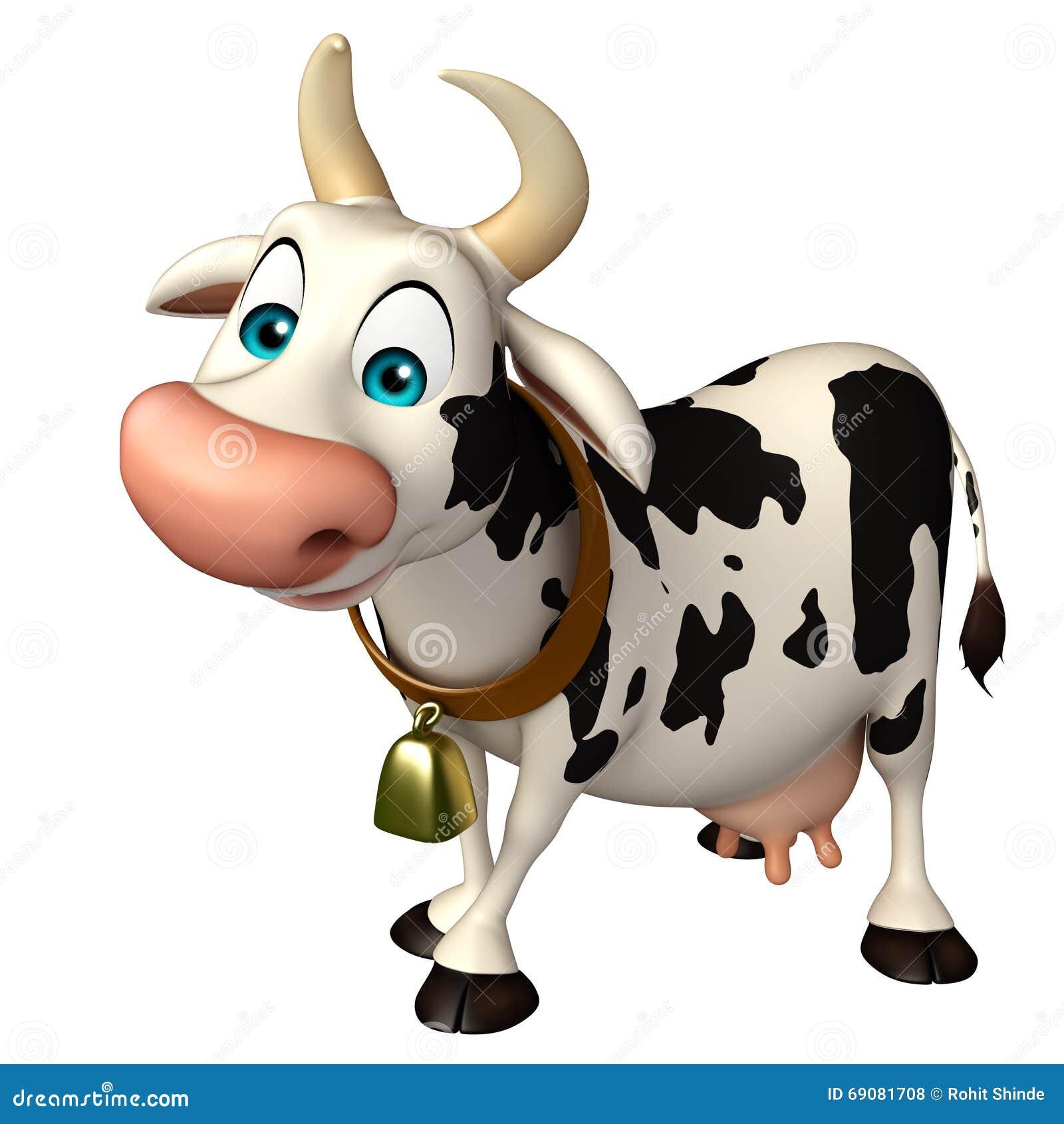 乐趣母牛滑稽的漫画人物图片