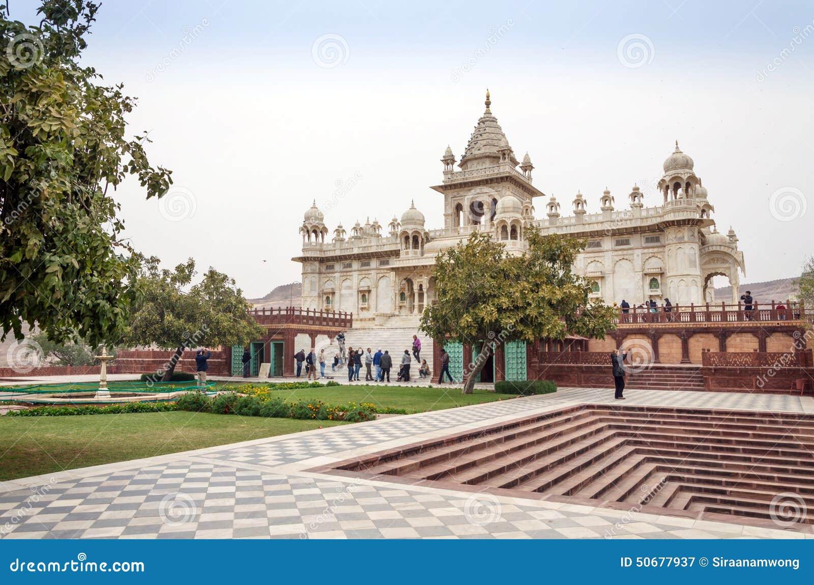 Download 乔德普尔城,印度- 2015年1月1日:旅游参观Jaswant Thada陵墓 图库摄影片 - 图片 包括有 设计, 1月: 50677937