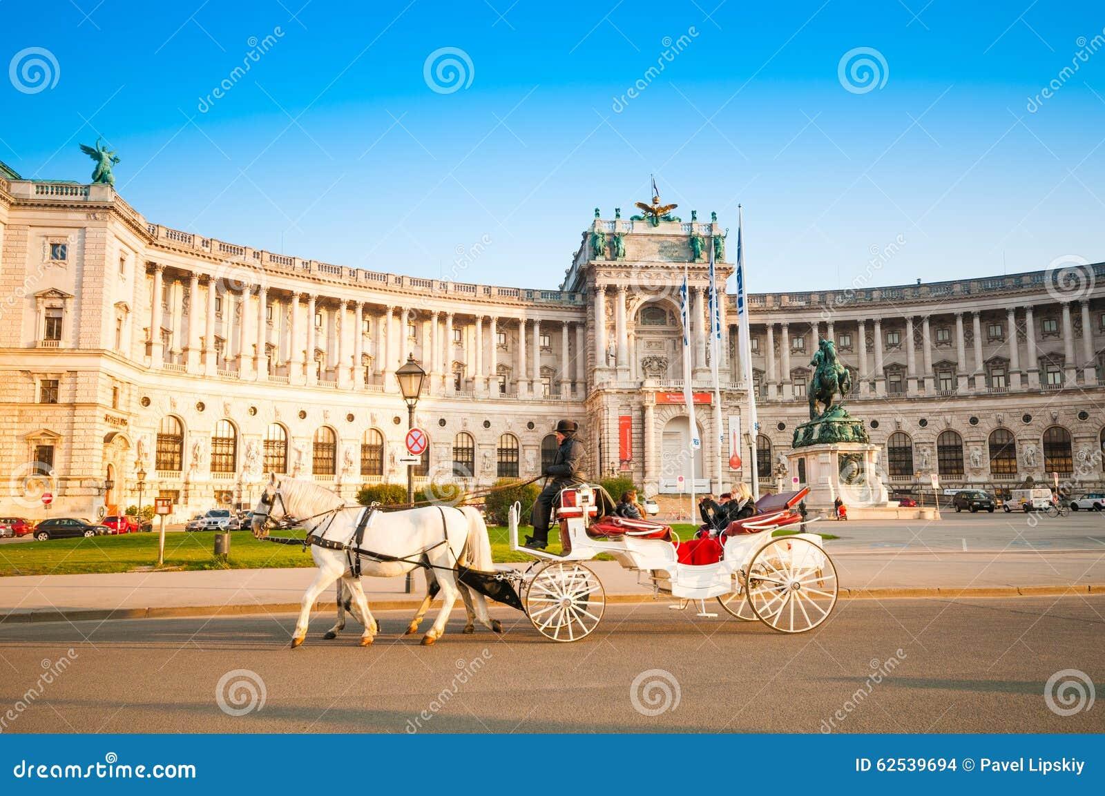 维也纳,奥地利- 2015年10月19日:传统古板的fi