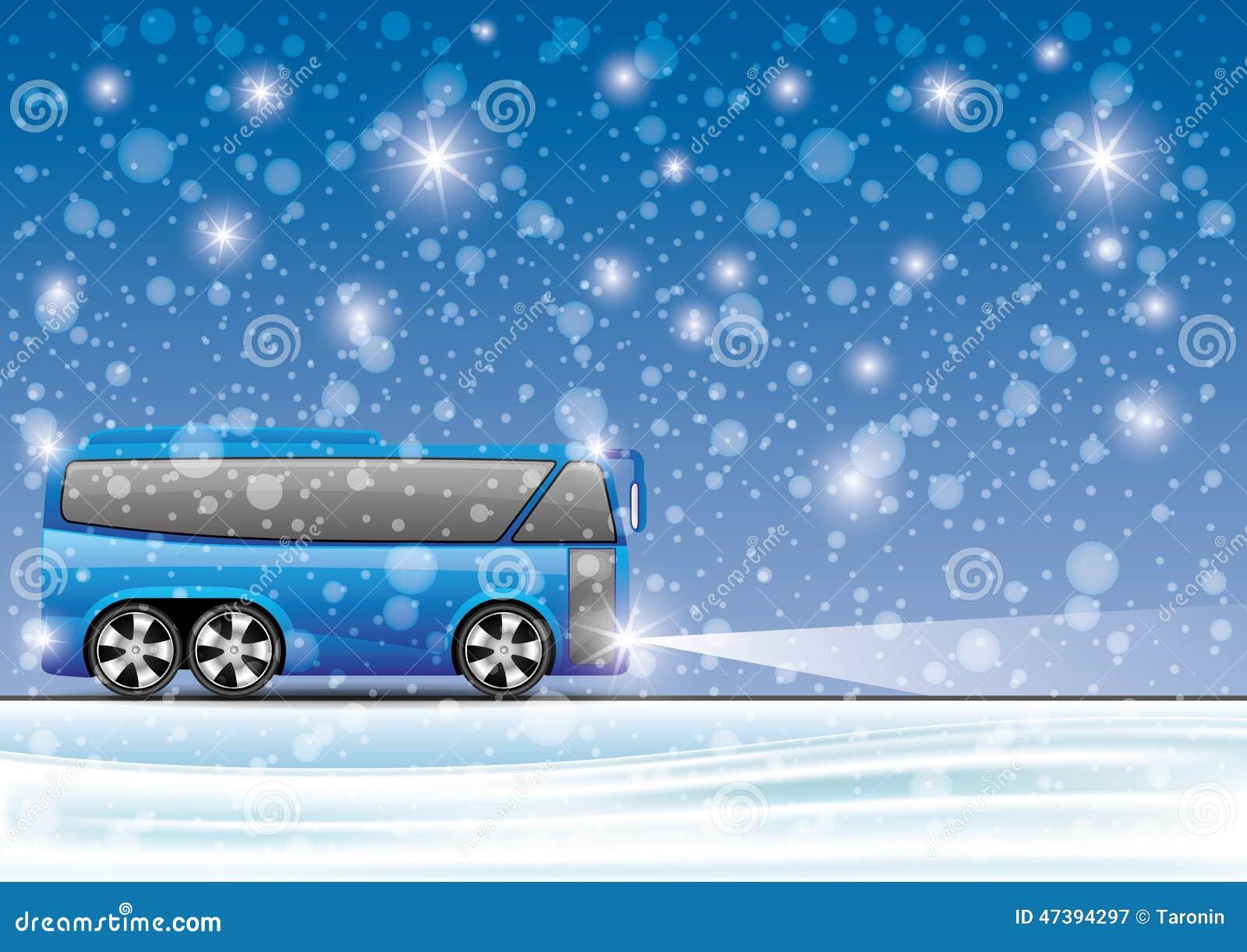 也corel凹道例证向量 公共汽车