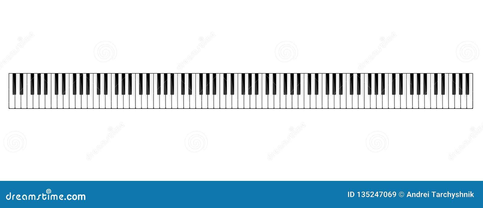 也corel凹道例证向量 音乐平的背景 与键盘的钢琴钥匙 曲调 仪器