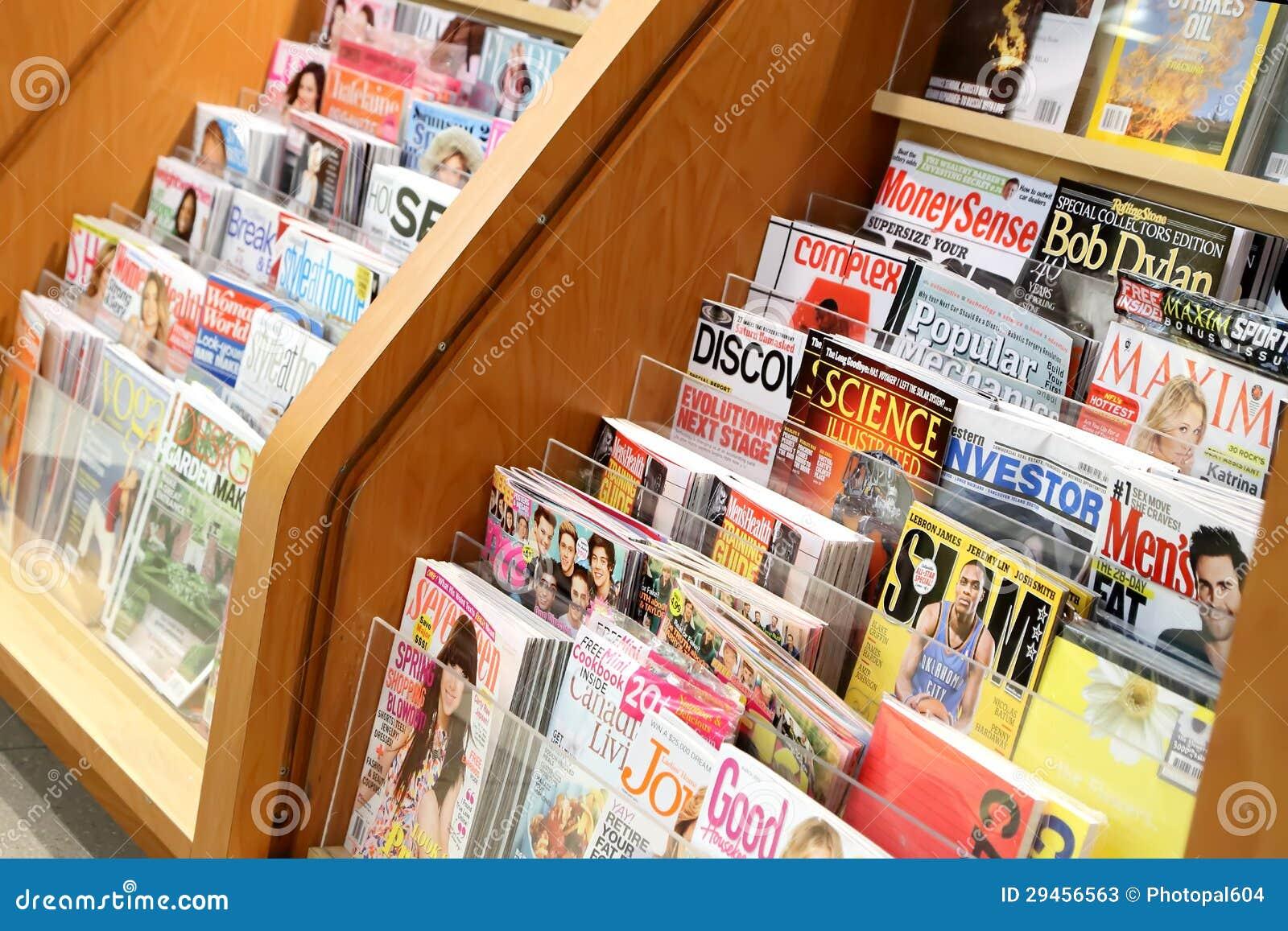 书和杂志存储