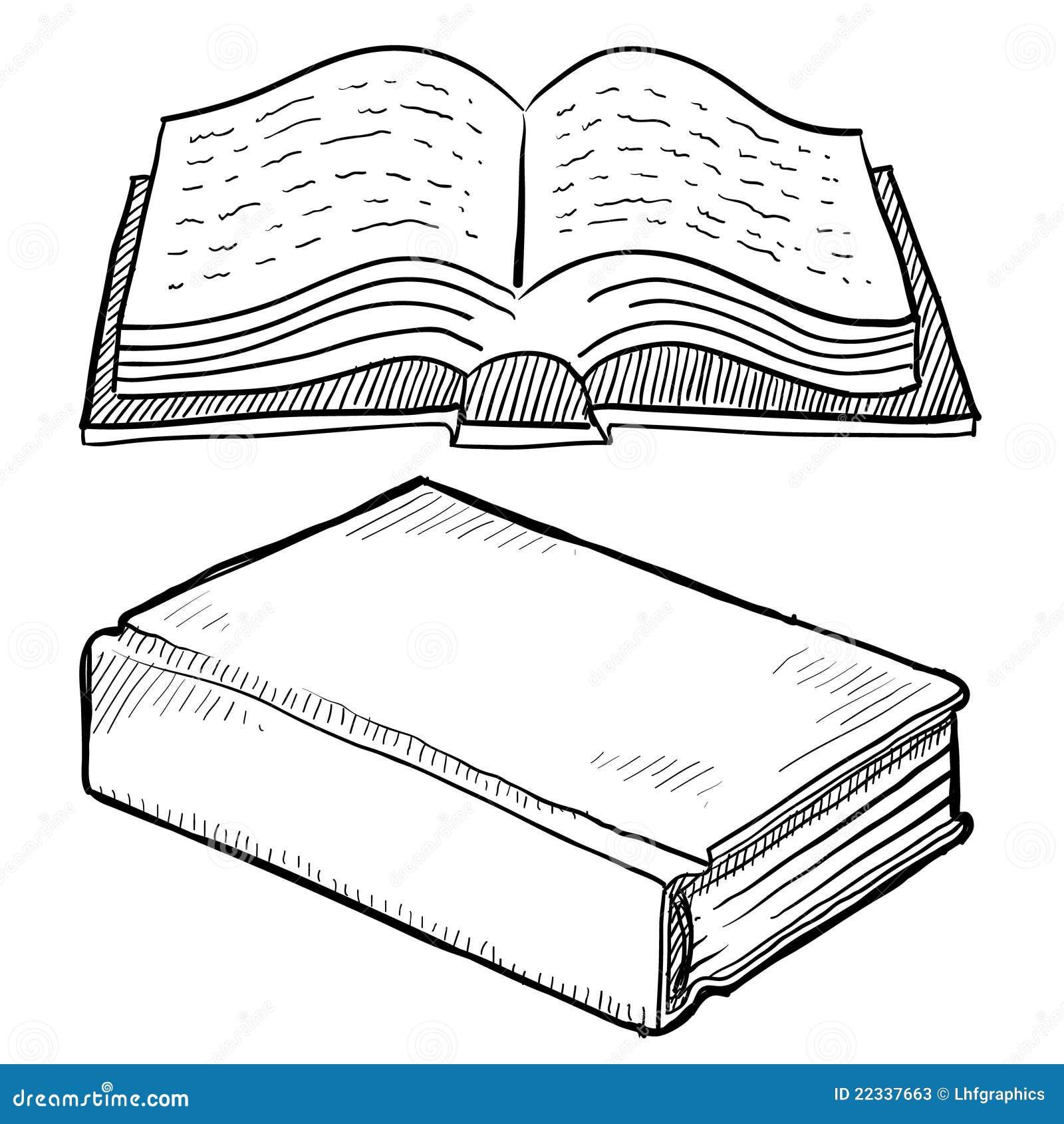 库存照片: 书图书馆草图图片
