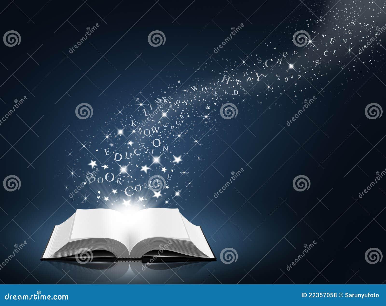 书开放雪星形文本白色