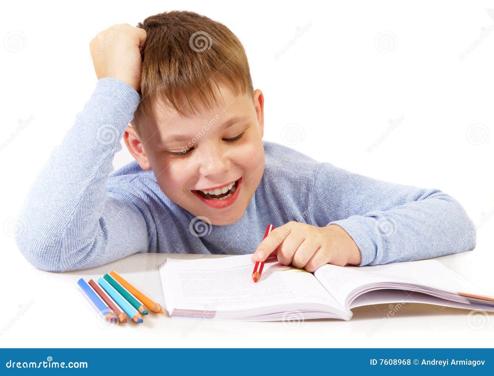 书男小学生
