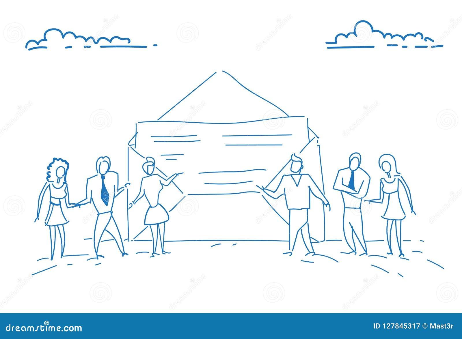 买卖人打开信封纸文件成功的合同约定概念配合评估的业务报告