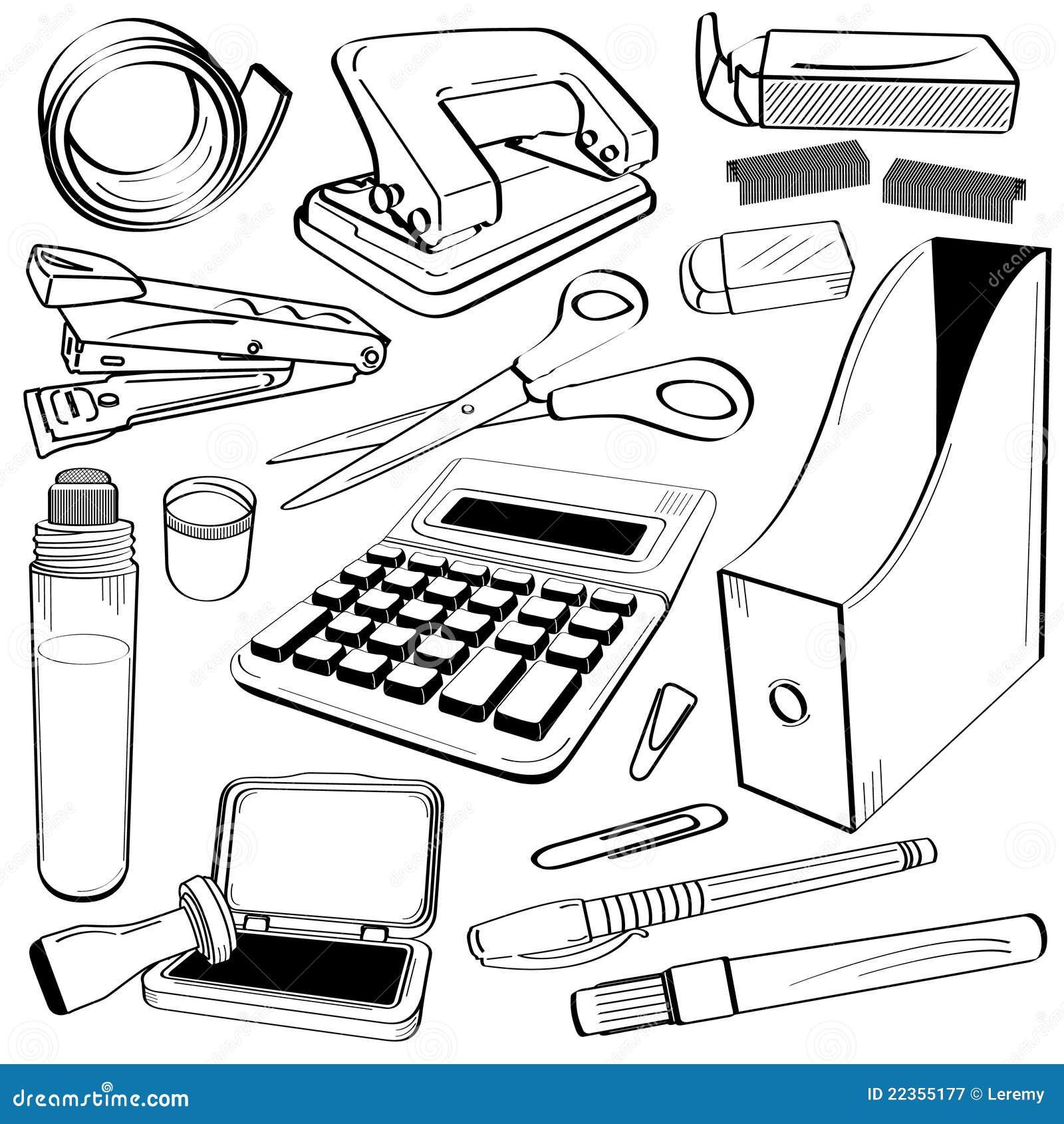 乱画办公室文教用品工具