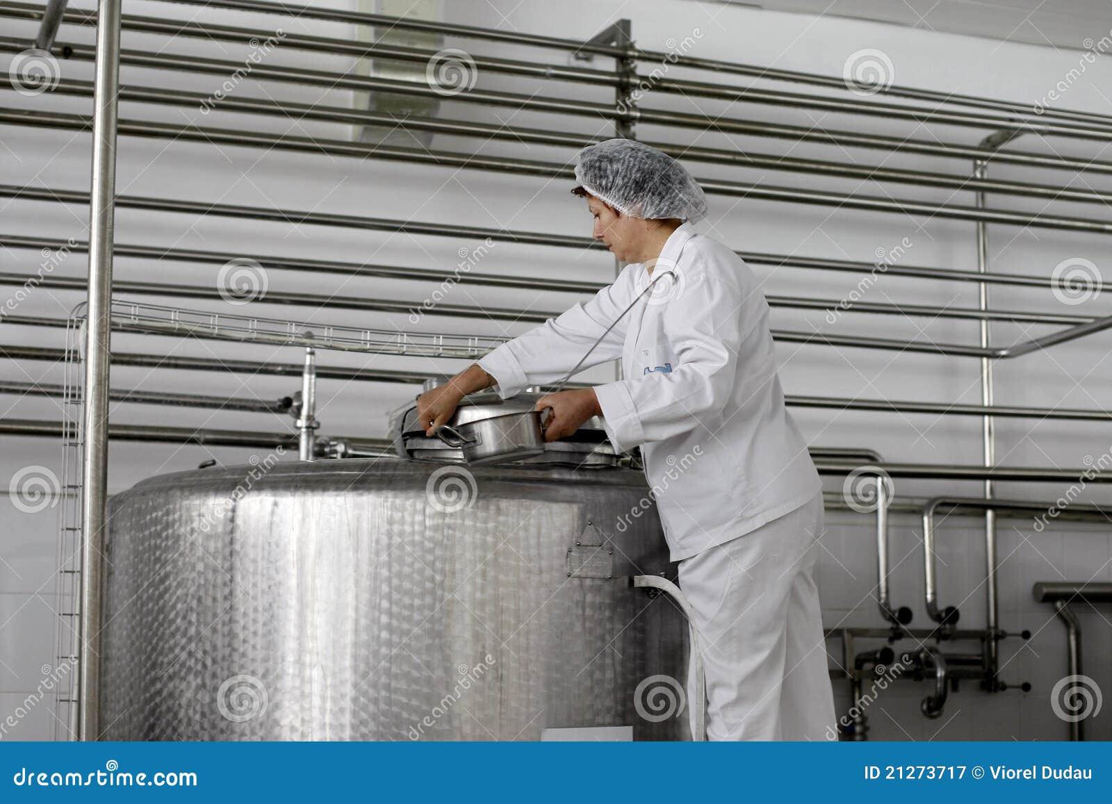 乳制品工厂生产