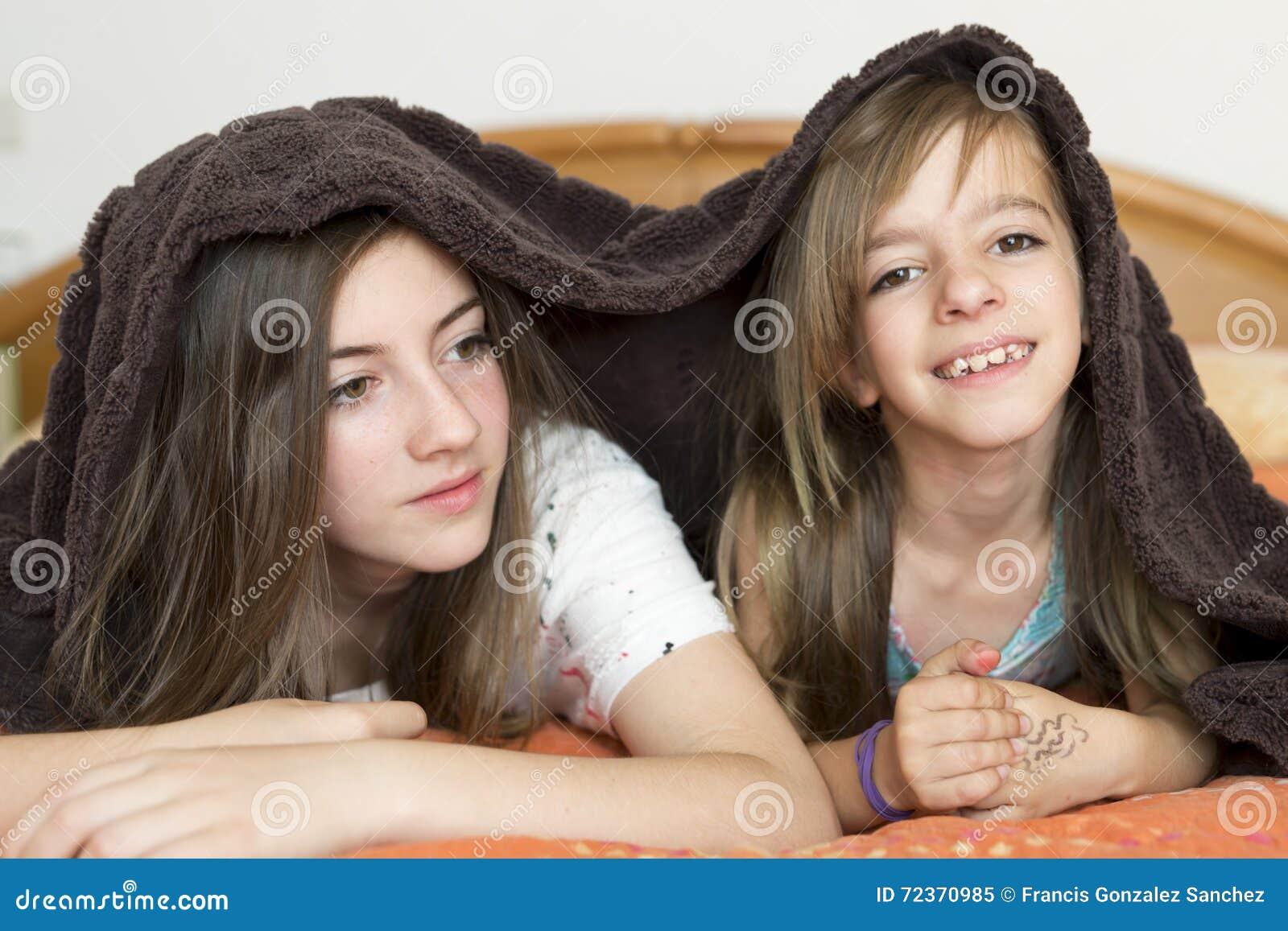 二个姐妹纵向
