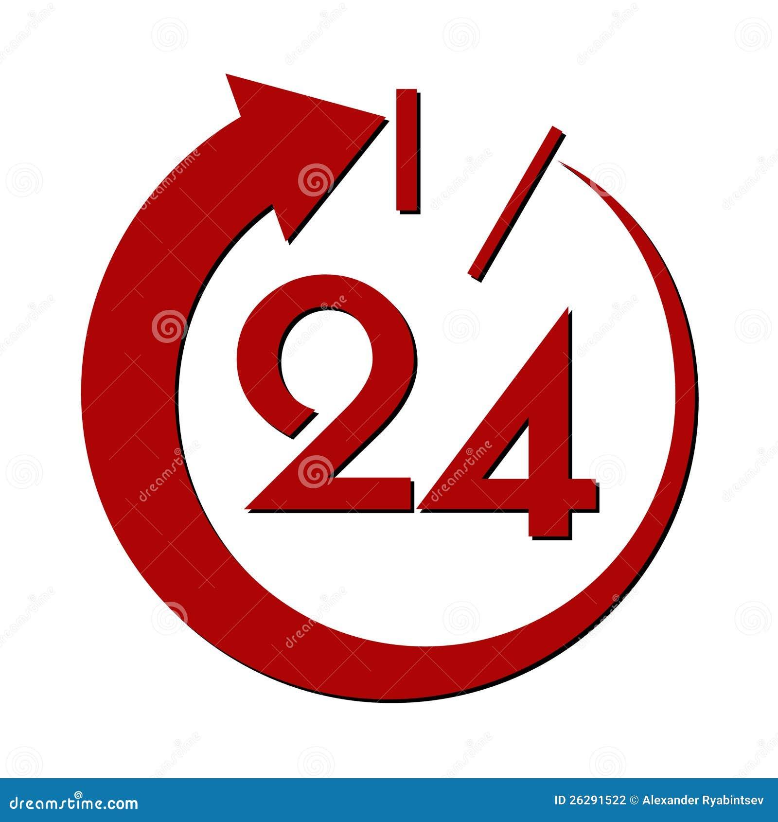 二十四个时数服务符号