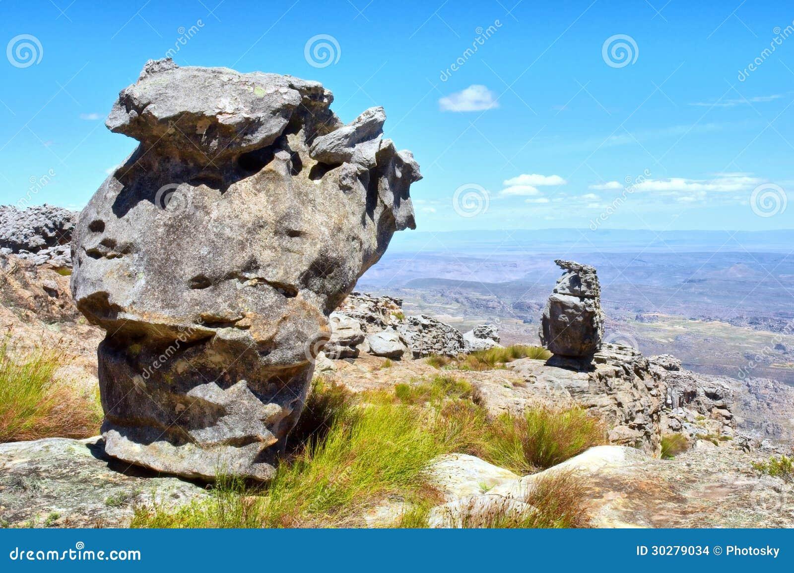二惊人的岩层