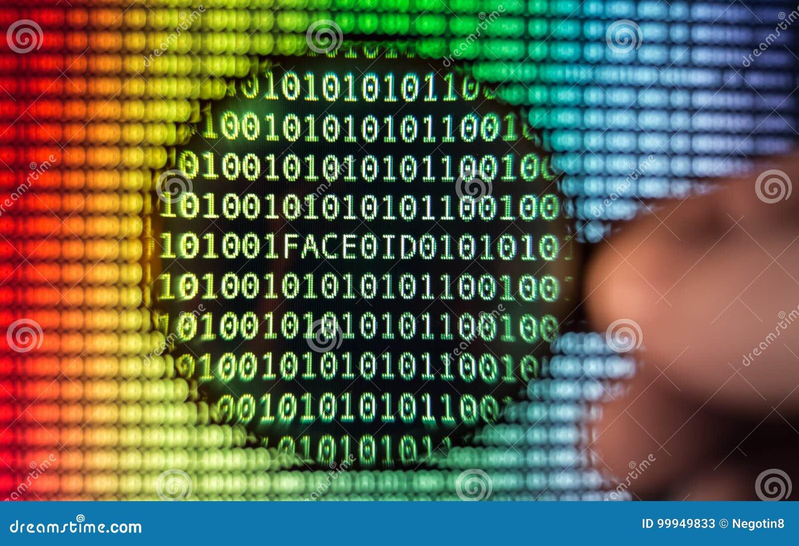 二进制编码屏幕