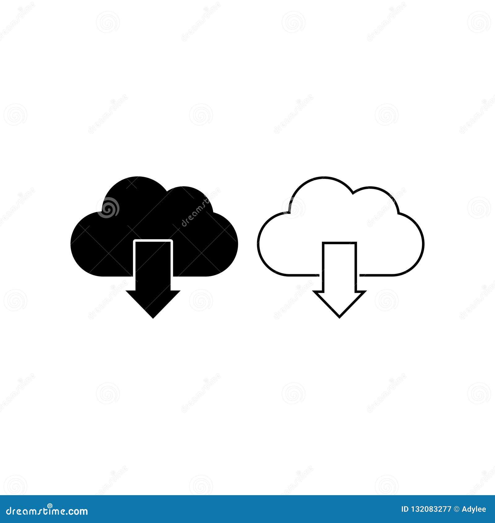 云彩下载象传染媒介隔绝了5