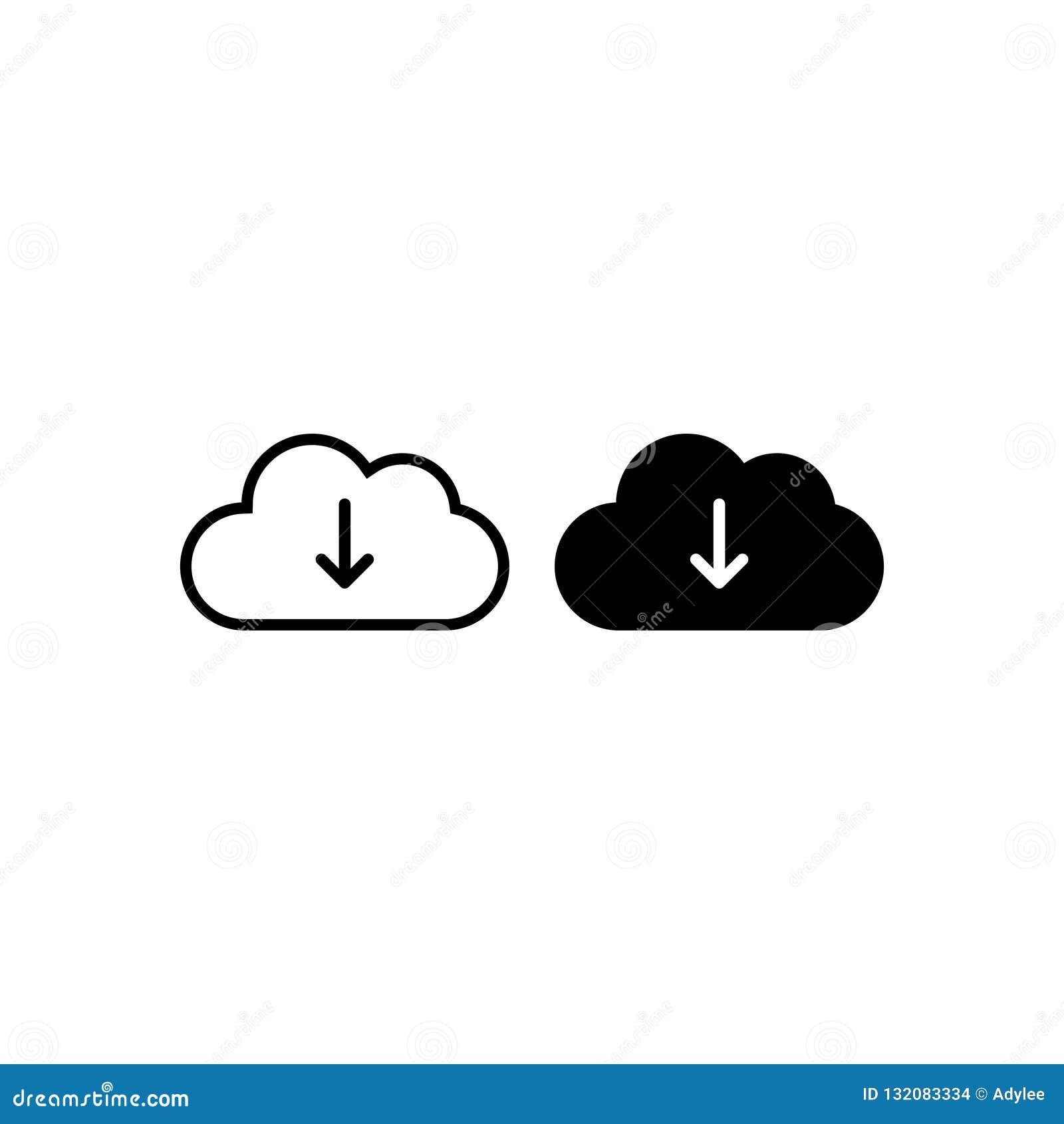 云彩下载象传染媒介隔绝了3