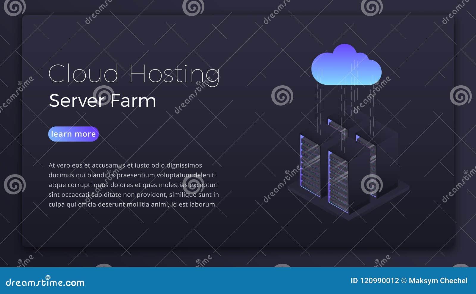 云彩主持 主持云彩服务器等量概念的数据 现代云彩技术英雄图象设计