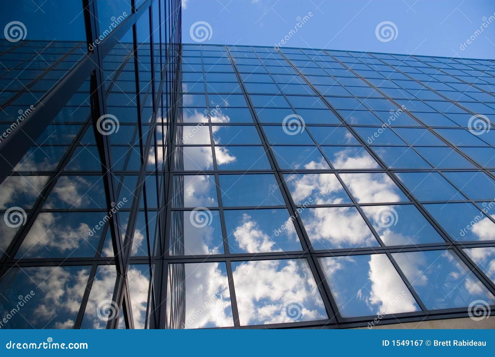 云彩反射了视窗