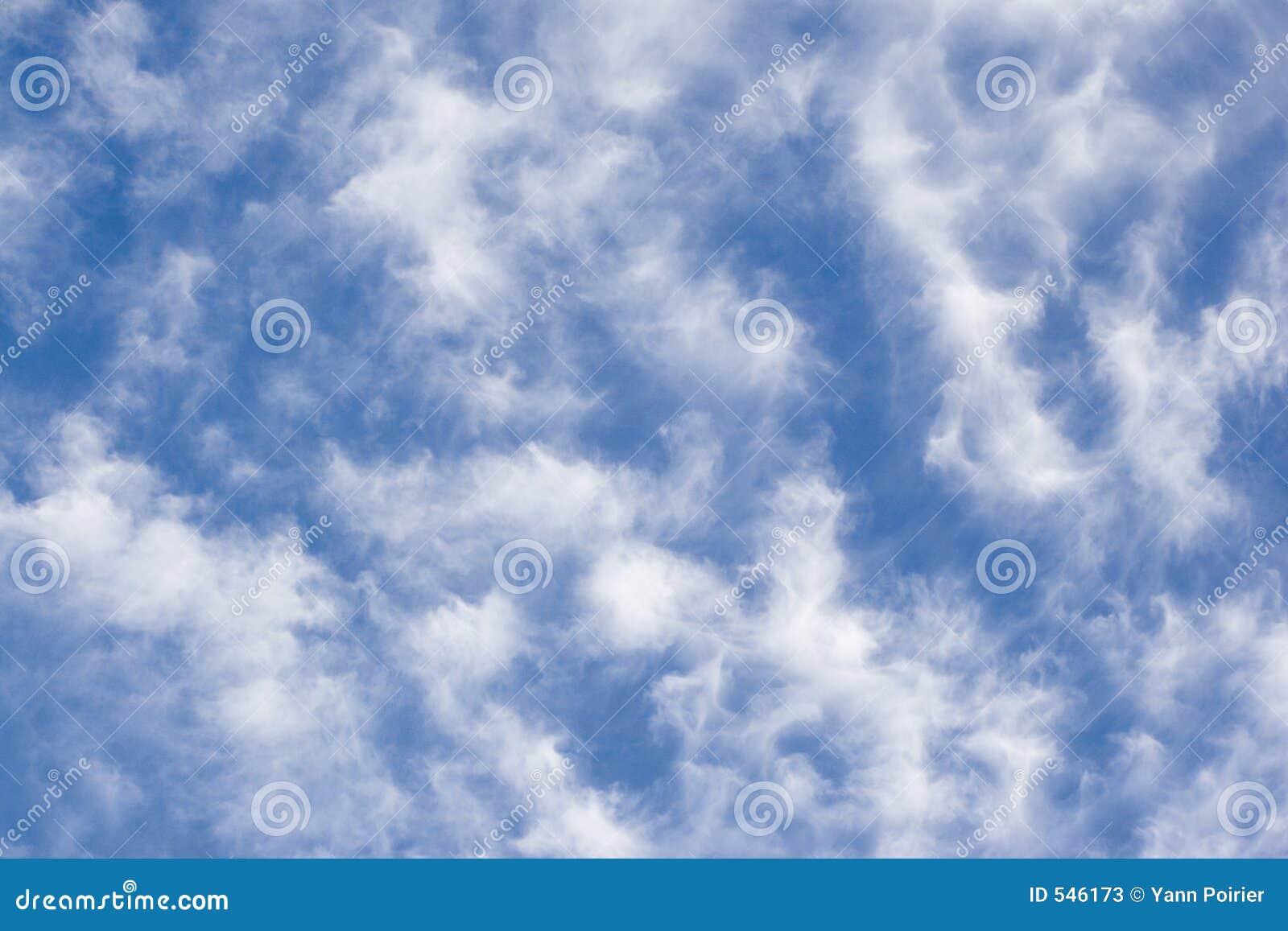 Download 云彩细丝 库存图片. 图片 包括有 虚拟, 干净, 预测, 绒毛, 多云, 云彩, 蓝色, 天堂, 照亮, 天空 - 546173