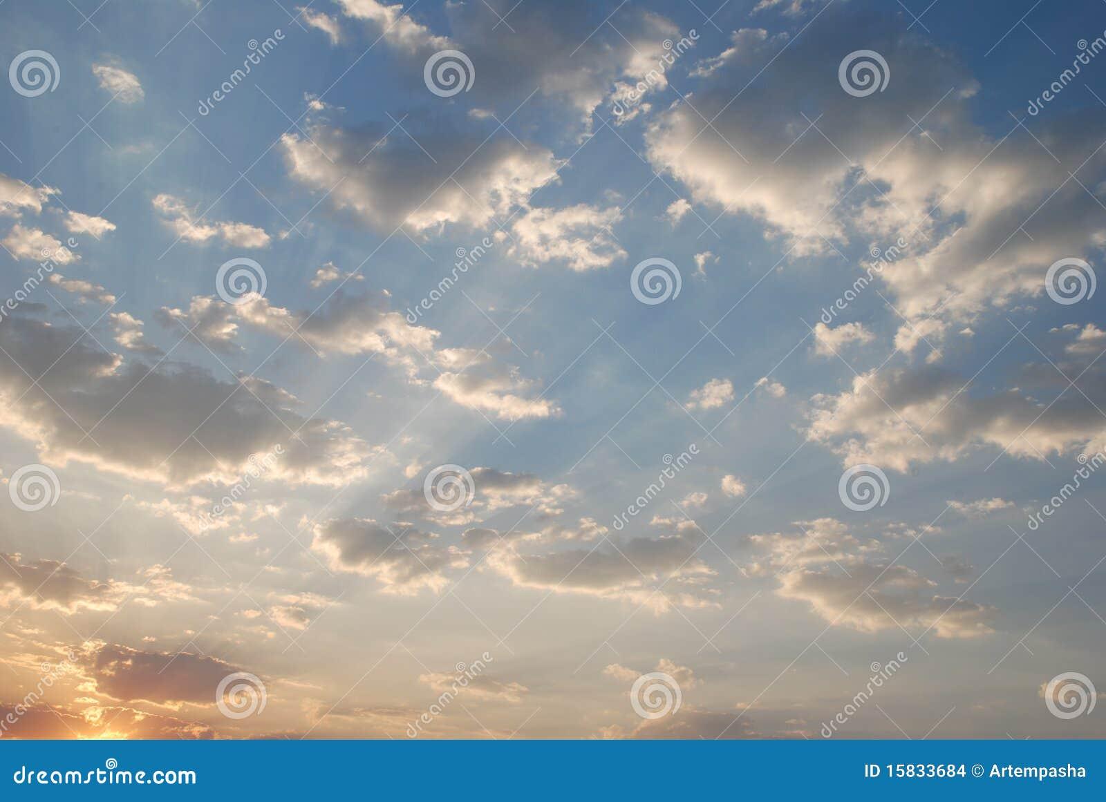 云彩 库存图片 - 图片: 15833684图片