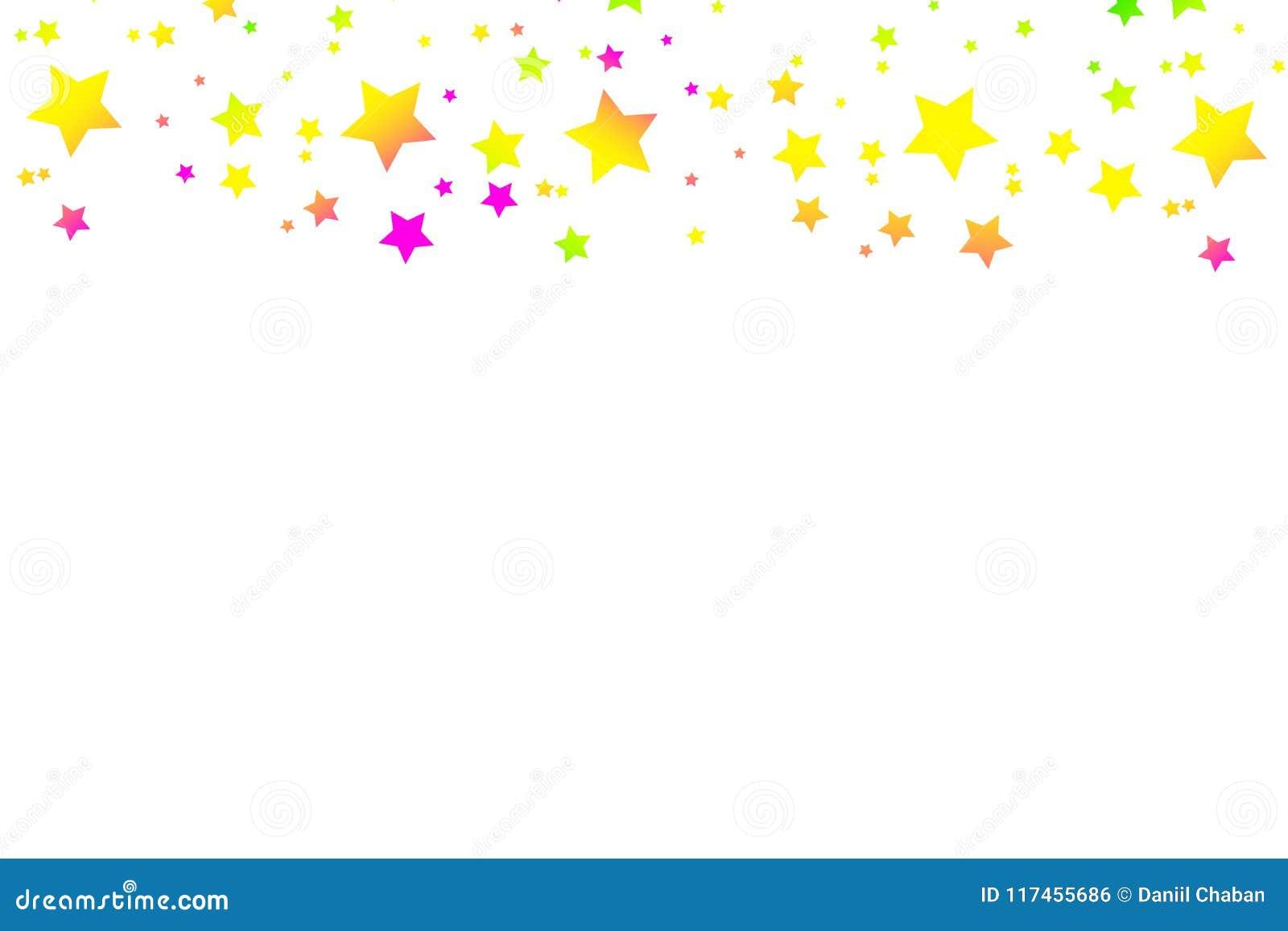 五彩纸屑多彩多姿的流星  豪华明亮的欢乐背景 桃红色,绿色,蓝色,绿松石,紫色