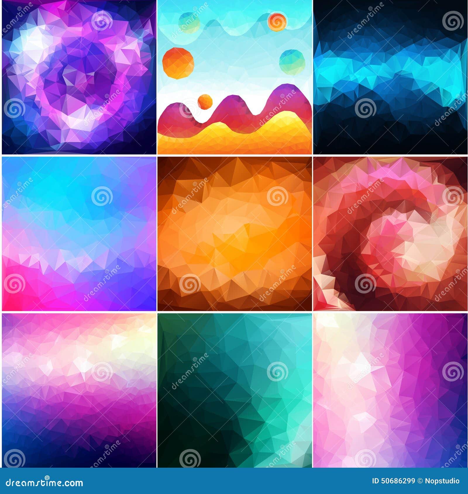 Download 五颜六色抽象的背景 向量例证. 插画 包括有 多彩多姿, origami, 概念, 华丽, 设计, beautifuler - 50686299