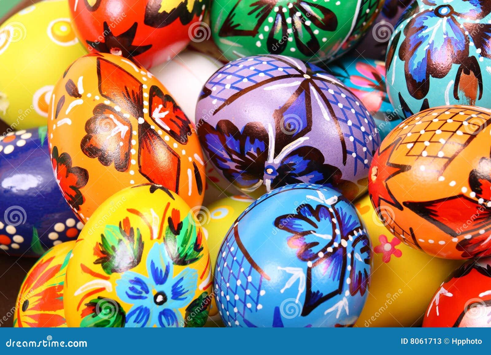五颜六色的意思_五颜六色的复活节彩蛋