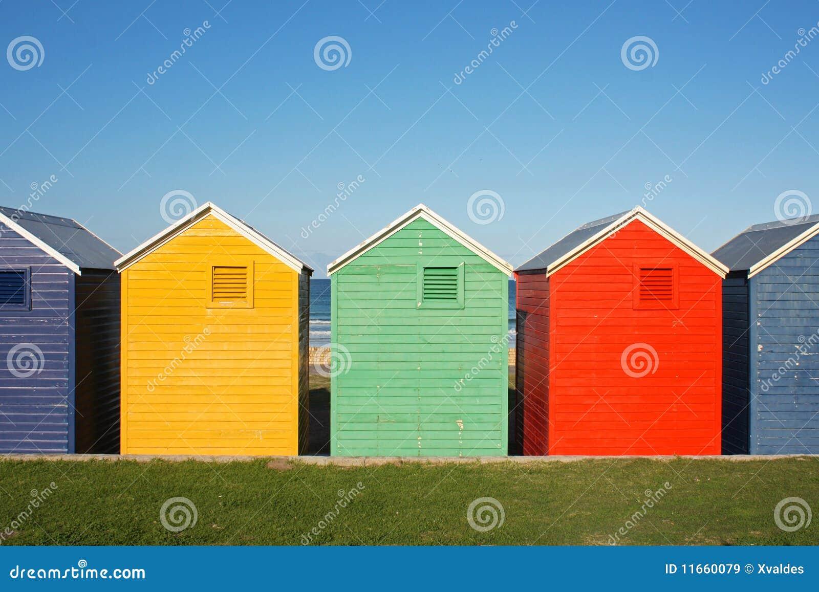 五颜六色的小屋